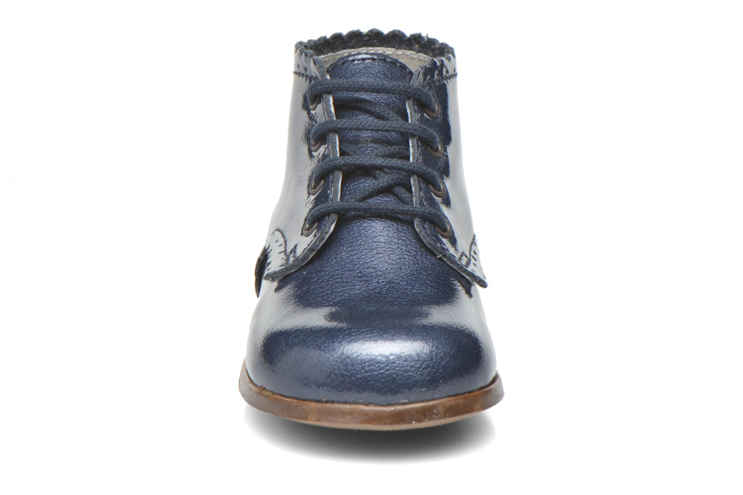 Ankle boots Little Mary Vivaldi Blue model view