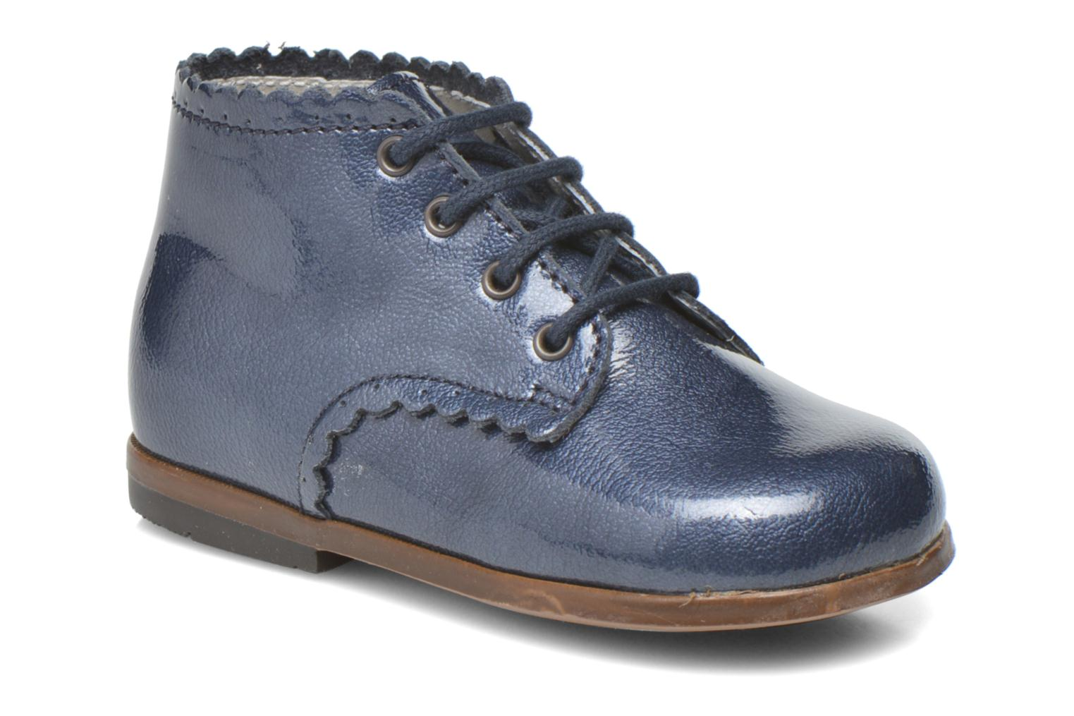 Ankle boots Little Mary Vivaldi Blue detailed view/ Pair view