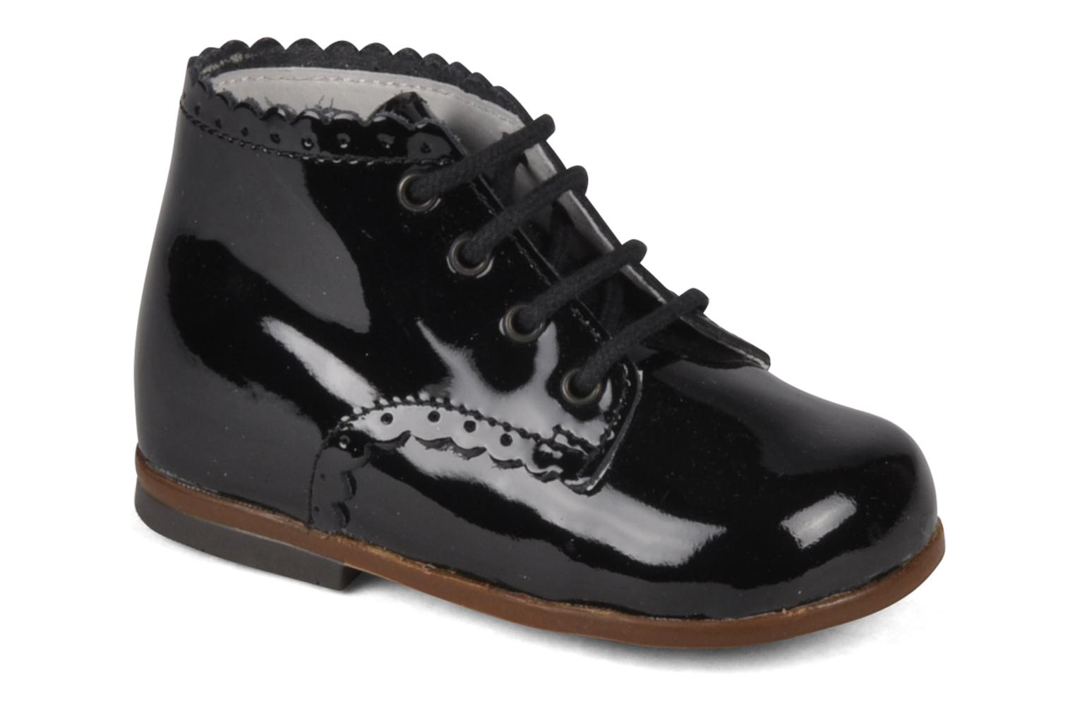 Ankle boots Little Mary Vivaldi Black detailed view/ Pair view
