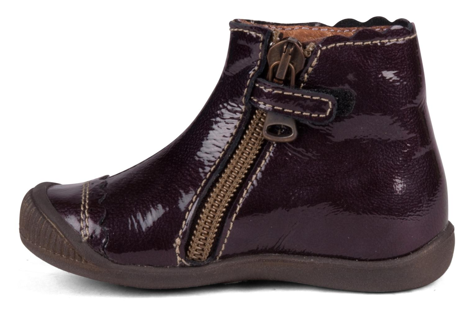 Ankle boots Little Mary Goelette Brown front view