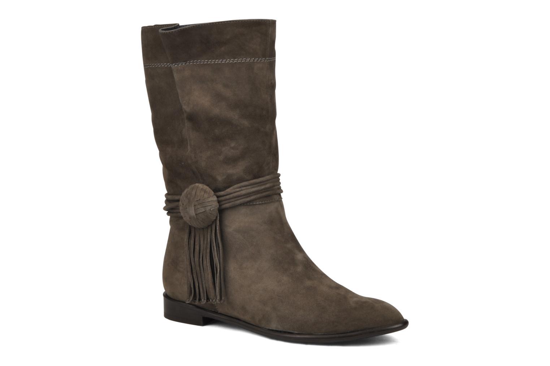 Bottines et boots JB MARTIN Rapa Marron vue détail/paire