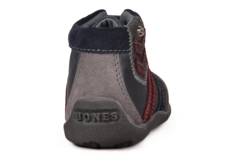Bottines et boots Stones and Bones Ale Bleu vue droite