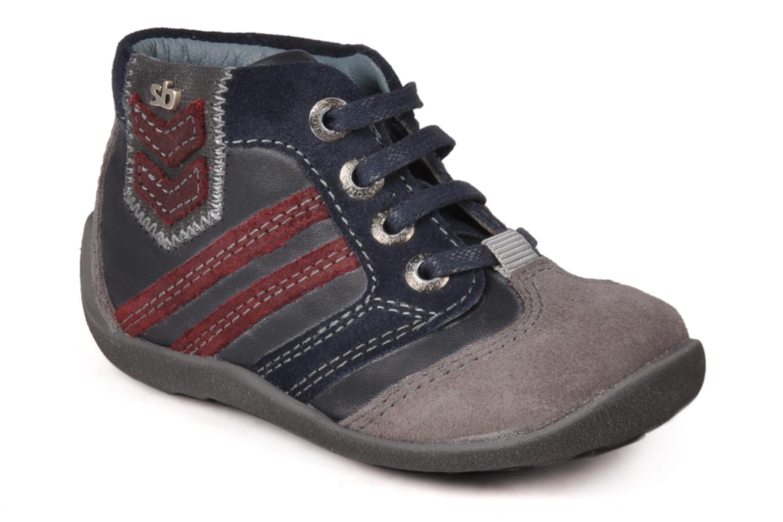 Ankle boots Stones and Bones Ale Blue detailed view/ Pair view