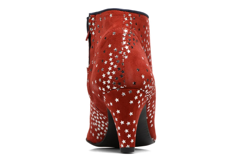 Bottines et boots Annabel Winship Guerin Rouge vue droite