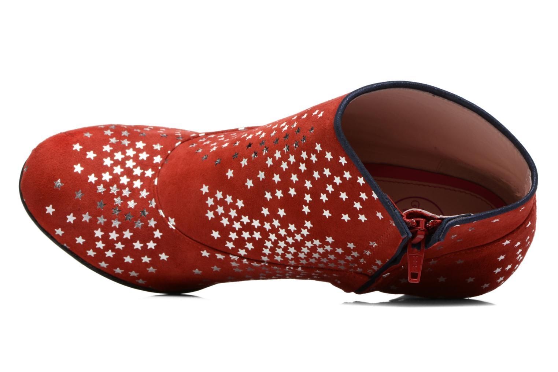 Bottines et boots Annabel Winship Guerin Rouge vue gauche