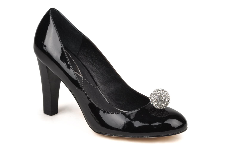 High heels C.Petula Diana Black detailed view/ Pair view