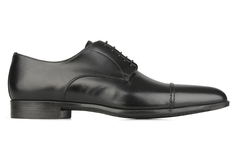 Chaussures à lacets Santoni William 10096 Noir vue derrière