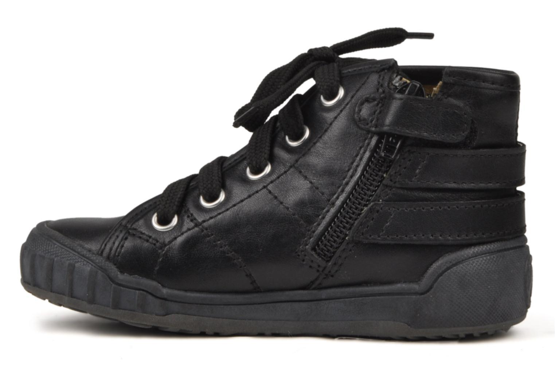 Sneaker Naturino Maude schwarz ansicht von vorne