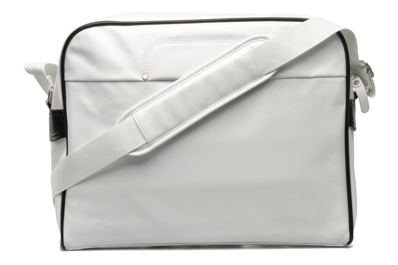 Borse uomo Nike Heritage SI Track Bag Bianco immagine frontale
