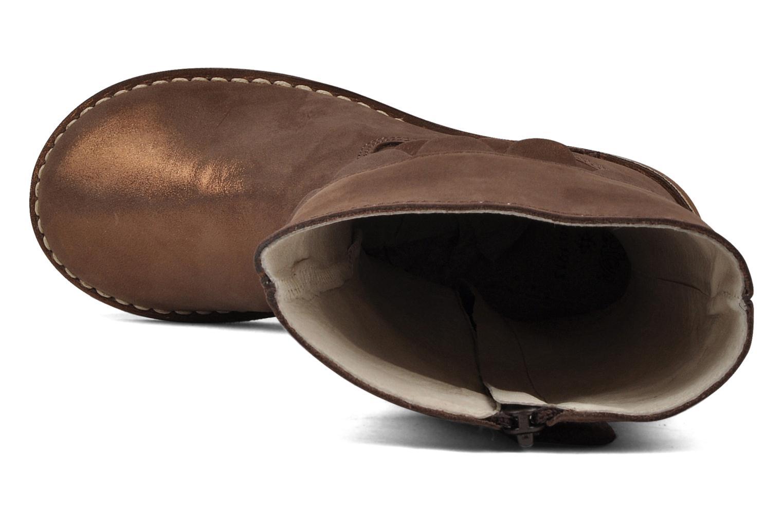 Stiefel Aster Verseau gold/bronze ansicht von links