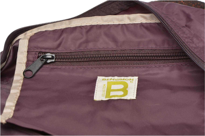 Sporttassen Bensimon Sport Bag Paars achterkant