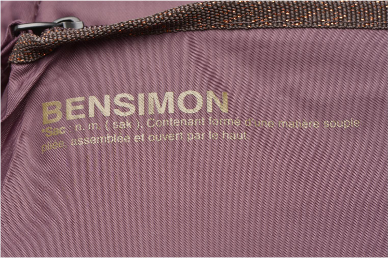 Sporttassen Bensimon Sport Bag Paars links