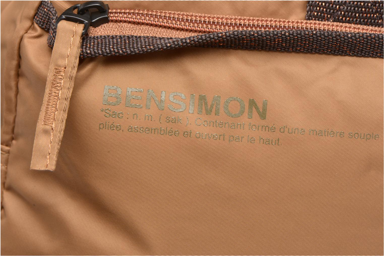 Sacs de sport Bensimon Sport Bag Beige vue gauche