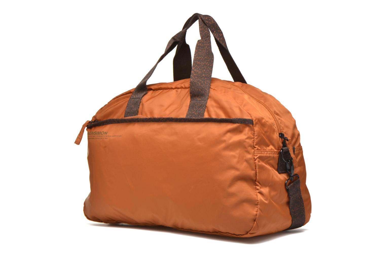 Sporttaschen Bensimon Sport Bag orange schuhe getragen