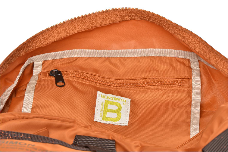 Sporttaschen Bensimon Sport Bag orange ansicht von hinten