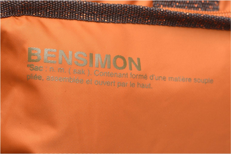 Sporttaschen Bensimon Sport Bag orange ansicht von links