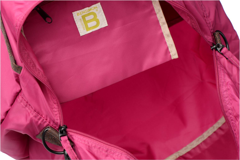 Sporttassen Bensimon Sport Bag Roze achterkant