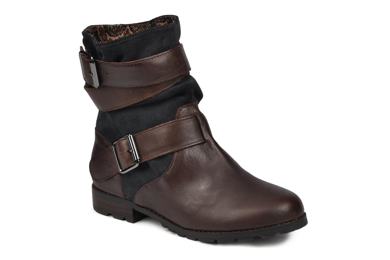 Bottines et boots Mellow Yellow Miniitoss Marron vue détail/paire