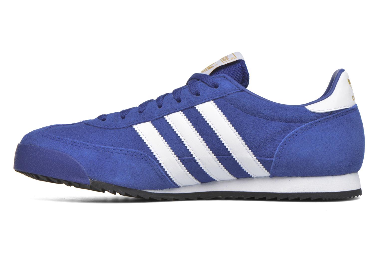 Sneakers Adidas Originals Dragon Blauw voorkant