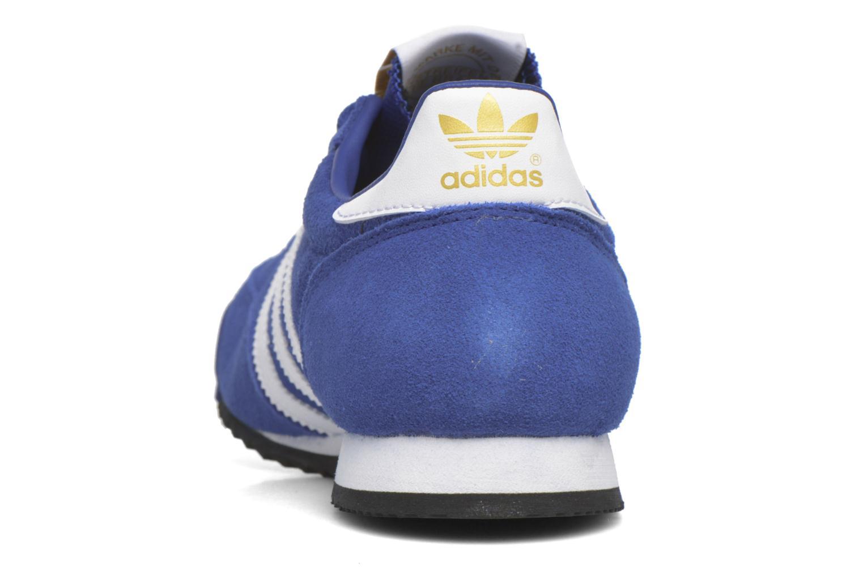 Sneakers Adidas Originals Dragon Blauw rechts