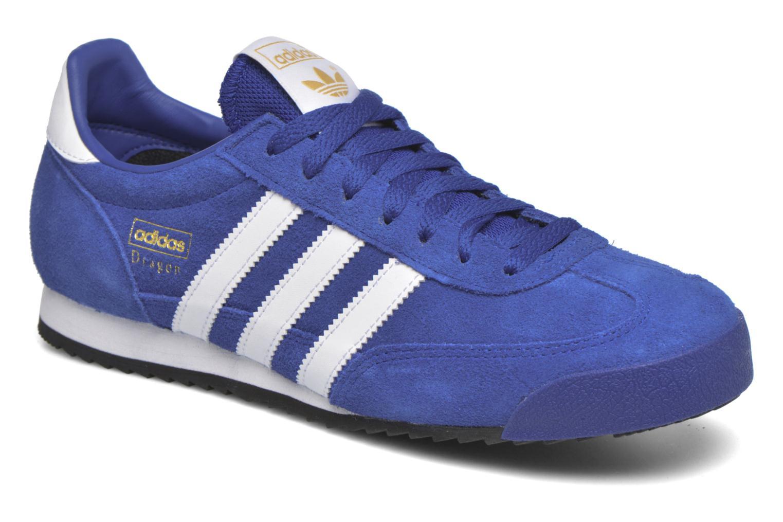 Sneakers Adidas Originals Dragon Blauw detail