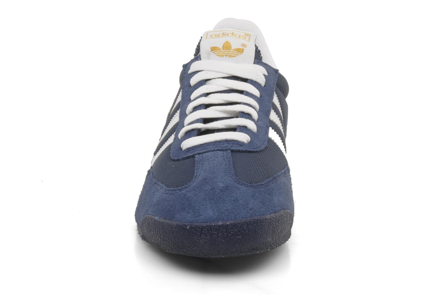 Dragon New Navy - White - Metallic Gold