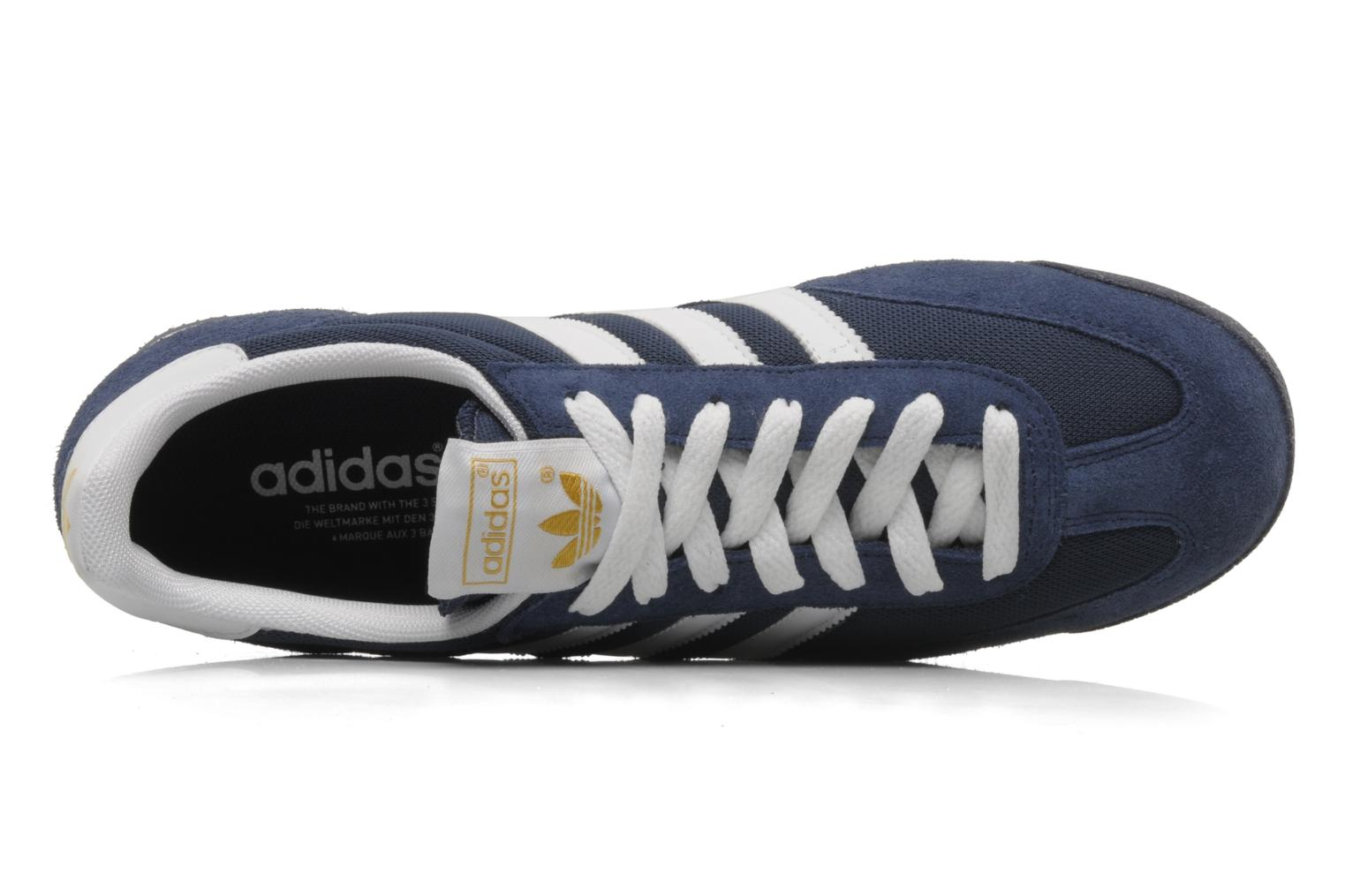 Sneakers Adidas Originals Dragon Blauw links