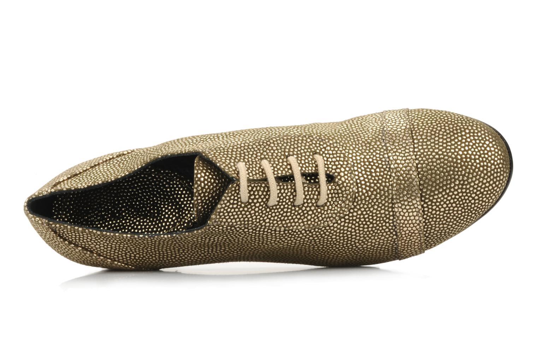 Chaussures à lacets Maloles Dorothy Or et bronze vue gauche