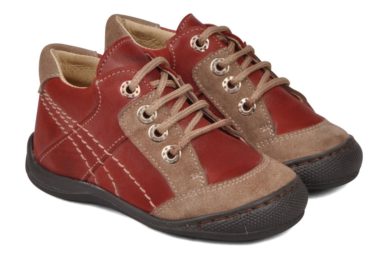 Bottines et boots Natik 22507B Rouge vue 3/4