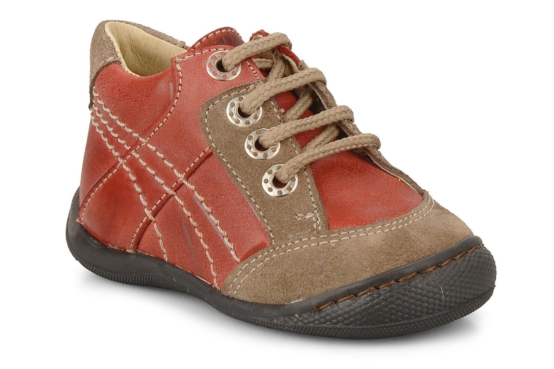 Boots en enkellaarsjes Natik 22507B Rood detail