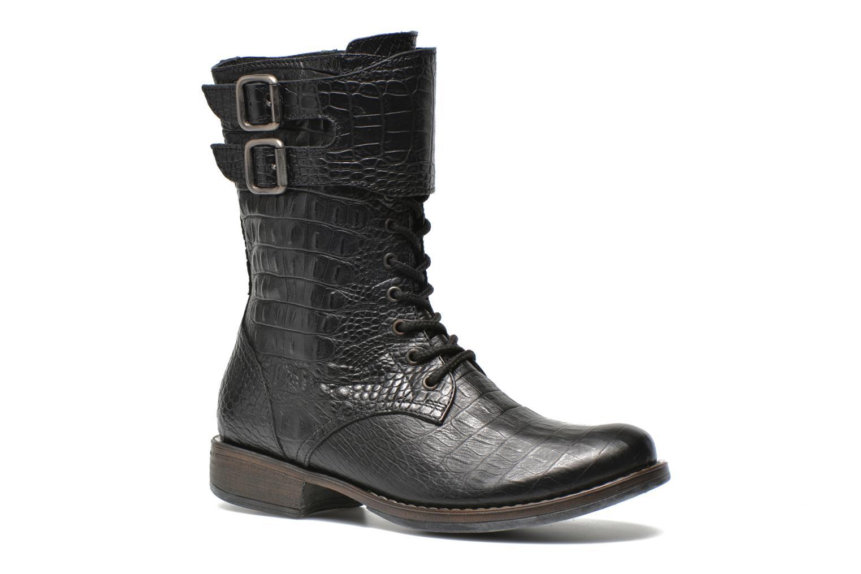 Boots en enkellaarsjes Espace Oudinot Zwart detail