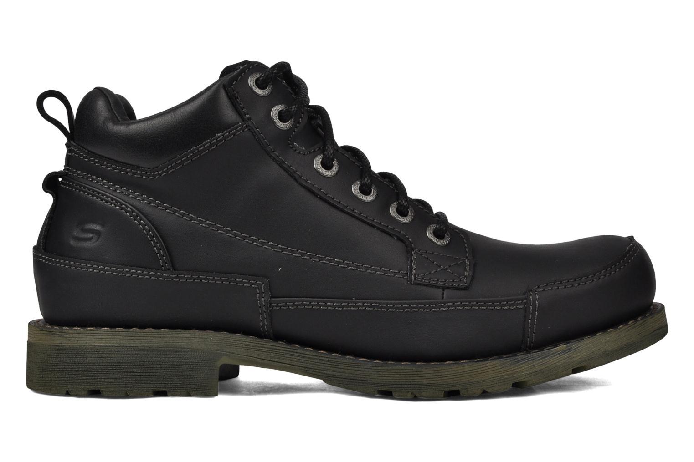 Chaussures à lacets Skechers Shockwaves Regions 61737 Noir vue derrière