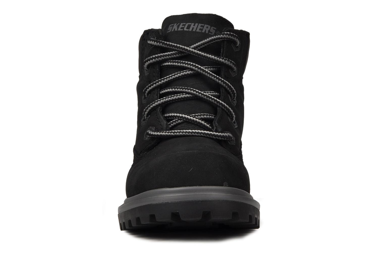 Stiefeletten & Boots Skechers Lumberjack schwarz schuhe getragen