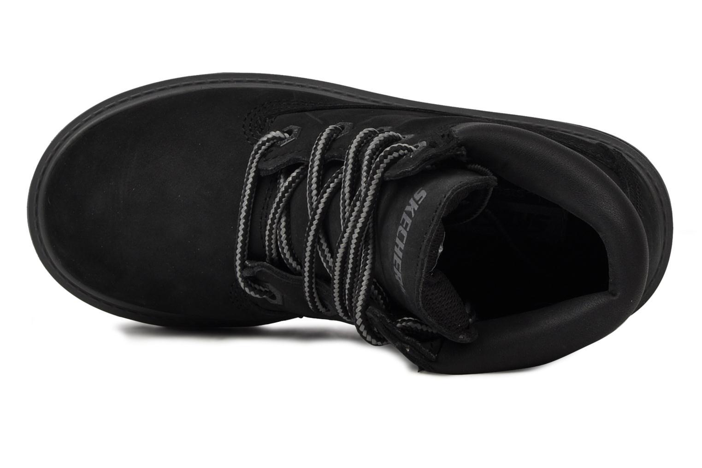 Stiefeletten & Boots Skechers Lumberjack schwarz ansicht von links