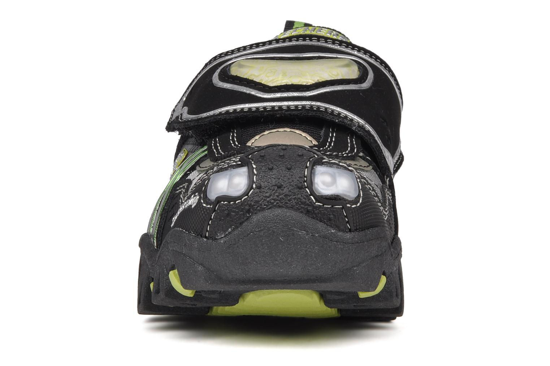 Baskets Skechers Spaceship Noir vue portées chaussures