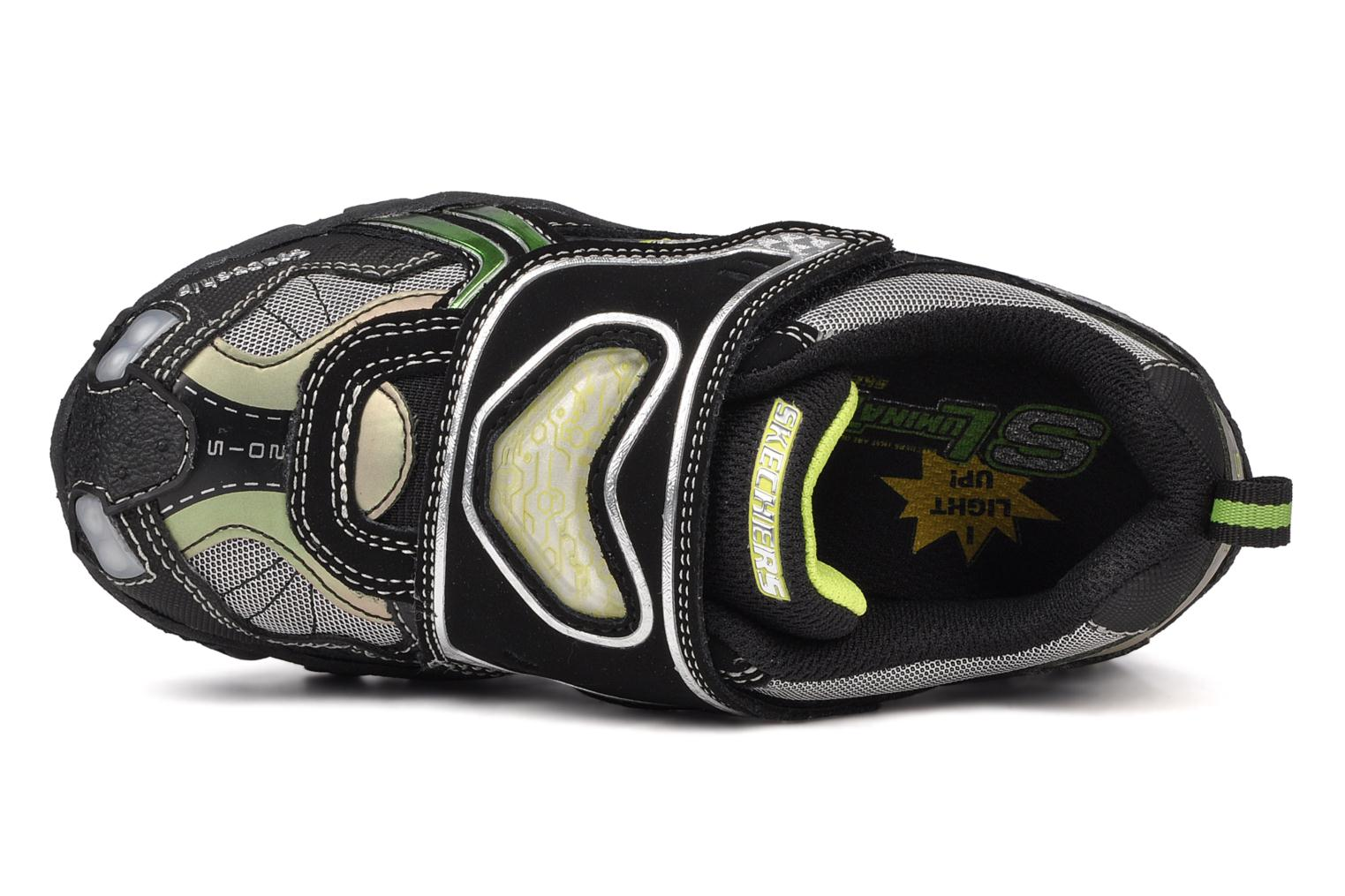 Trainers Skechers Spaceship Black view from the left