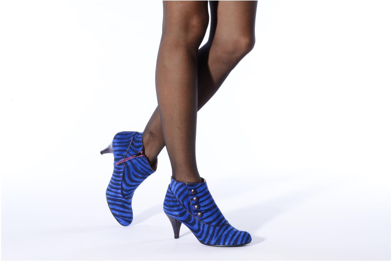 Bottines et boots Annabel Winship Famous Bleu vue bas / vue portée sac