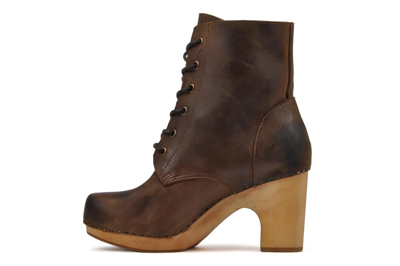 Bottines et boots Jeffrey Campbell Erikson Marron vue face