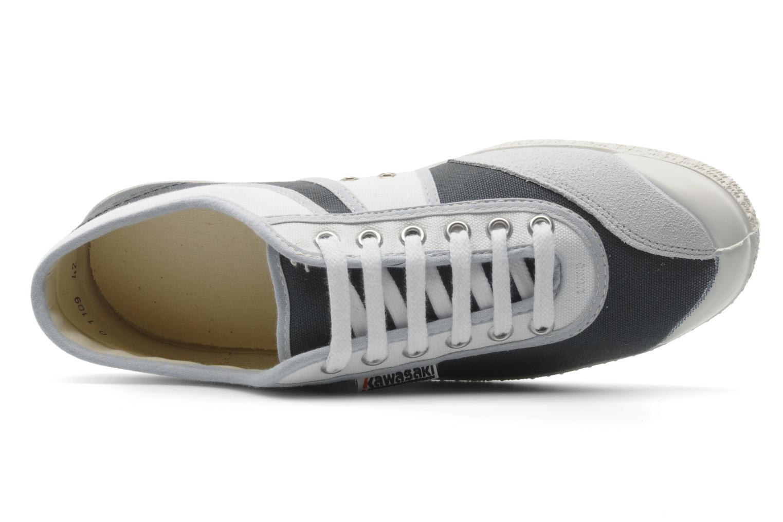 Sneakers kawasaki Kawasaki Bicolore M Bianco immagine sinistra