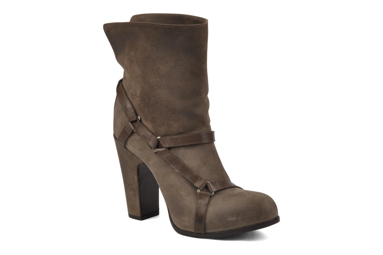 Bottines et boots Sartore Elda Beige vue détail/paire