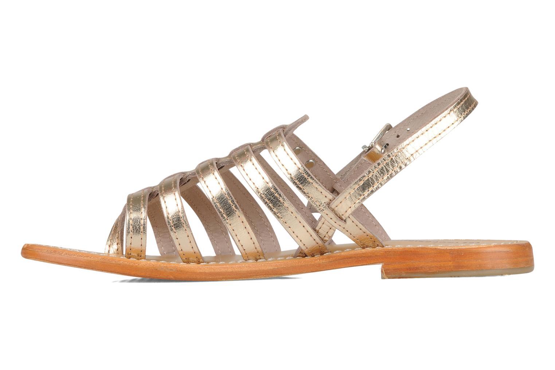Sandali e scarpe aperte Les Tropéziennes par M Belarbi Herisson Oro e bronzo immagine frontale