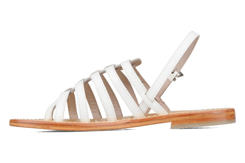 Sandali e scarpe aperte Les Tropéziennes par M Belarbi Herisson Bianco immagine frontale