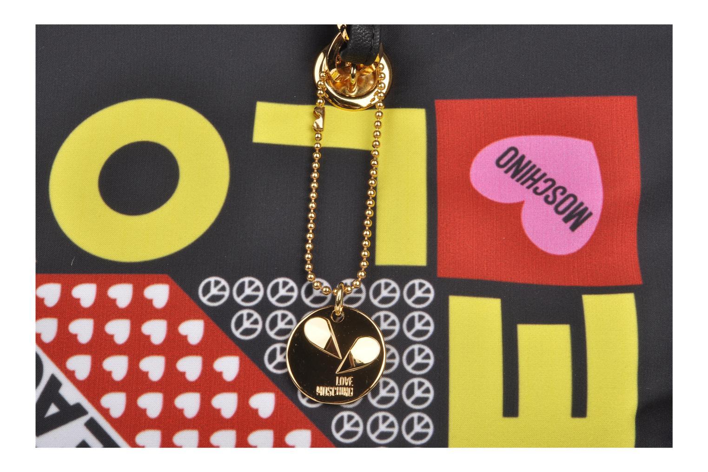 Handtaschen Love Moschino Charming bag shopper mehrfarbig ansicht von links