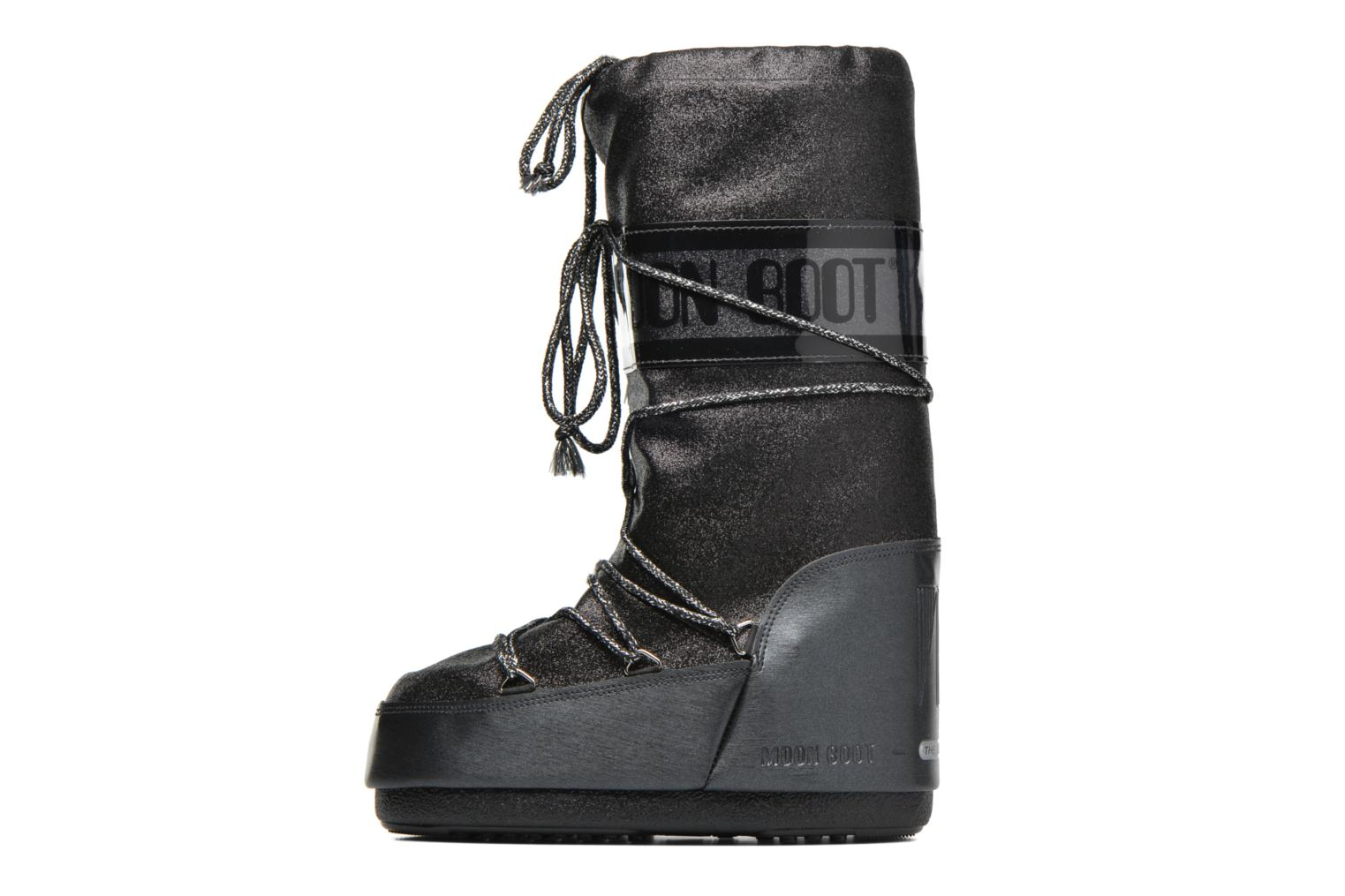 Boots & wellies Moon Boot Delux Black front view