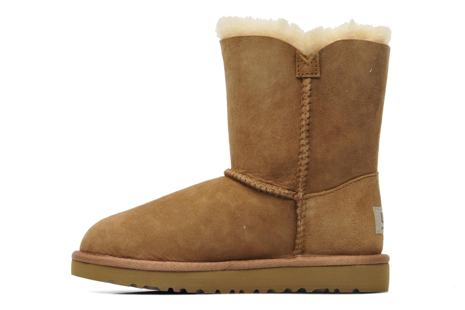 Bottes UGG Kid's bailey button Marron vue face