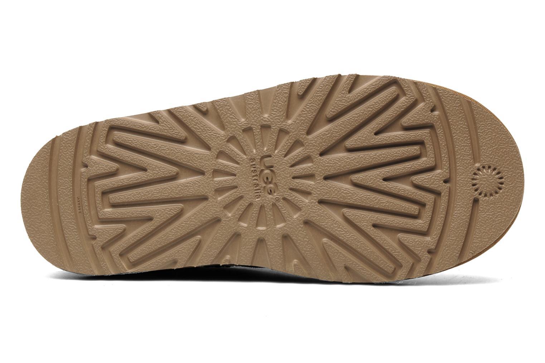 Stiefeletten & Boots UGG Kid's classic short beige ansicht von oben