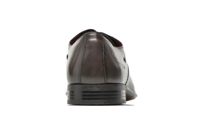 Zapatos con cordones Redskins Hello Gris vista lateral derecha