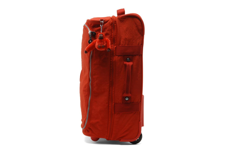Reisegepäck Kipling Teagan S rot schuhe getragen