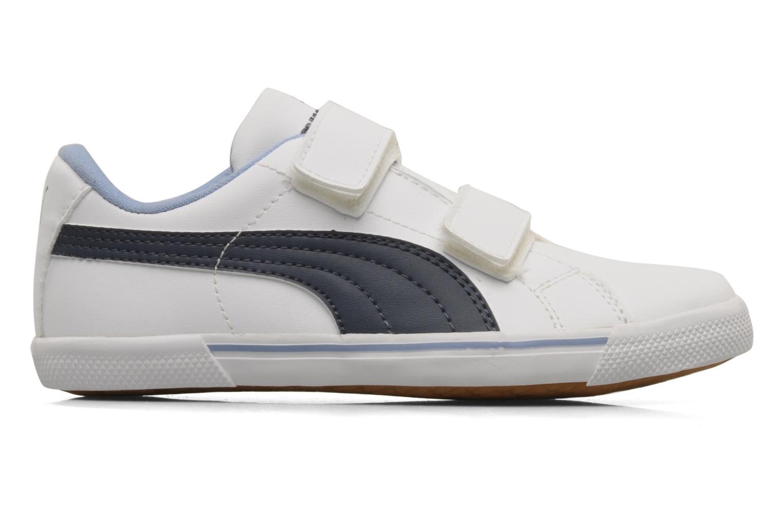 Sneaker Puma Benecio l kids weiß ansicht von hinten