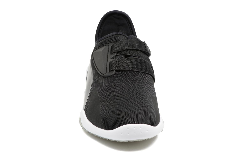 Sneaker Puma Mostro mesh schwarz schuhe getragen
